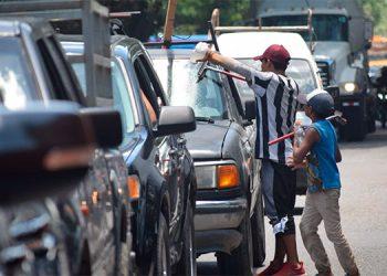 Con la pandemia se incrementa la mendicidad y el trabajo infantil en las ciudades más pobladas de Honduras.