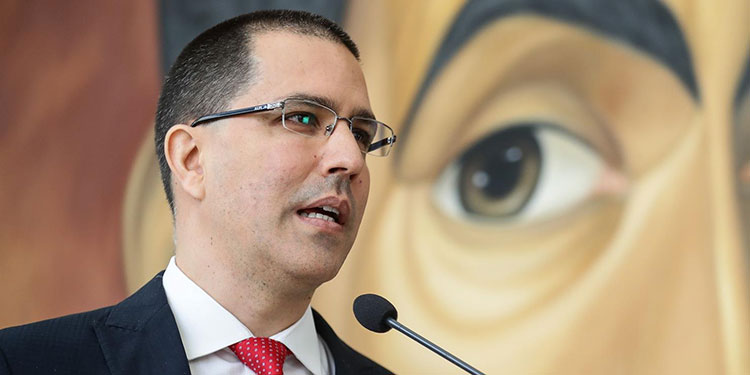 El canciller venezolano, Jorge Arreaza. EFE