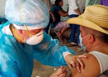 Un éxito fue la jornada de vacunación contra el COVID-19 en la ciudad de Choluteca.