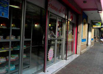 """Los Arcos. Aquí en esta zona peatonal se instaló en un pasado cafetería """"Los Arcos"""". Vendían el exquisito sándwich cubano."""