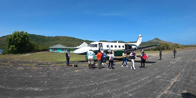 El viceministro Barralaga comentó: Los diferentes aeródromos en diferentes partes de Honduras están listos.