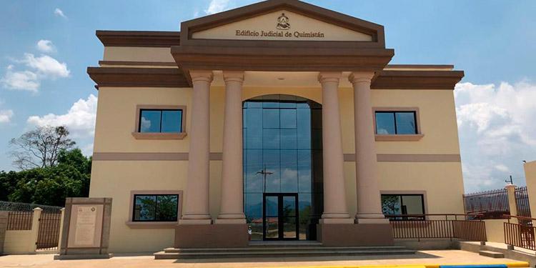 La sede judicial en Quimistán, Santa Bárbara, será próximamente inaugurada por el PJ.