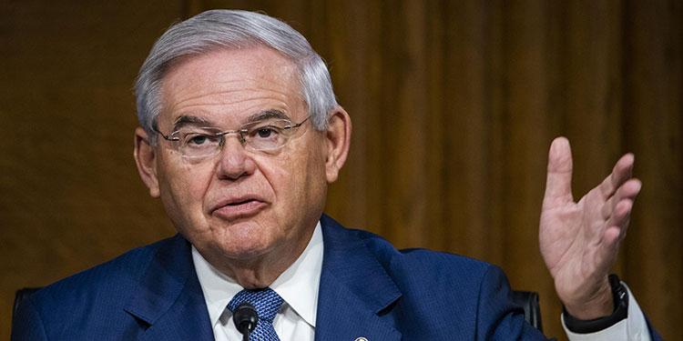 En la imagen, el senador demócrata Bob Menéndez. EFE