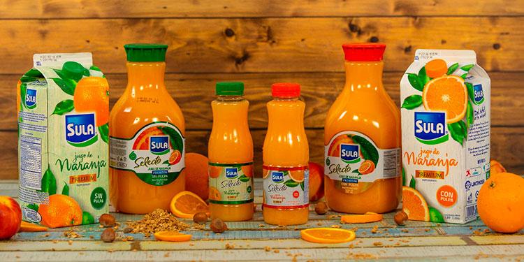 La leche y los jugos Sula son parte de la vida diaria de miles de familias que buscan productos saludables y nutritivos.