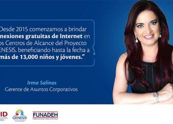Irma Salinas, gerente de Asuntos Corporativos de Tigo.