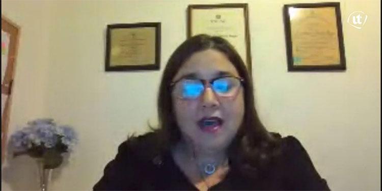 Ana Rettally, directora nacional de postgrados.