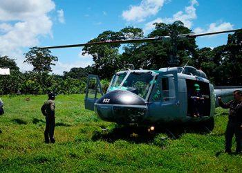 Las FF AA despliegan operaciones con el fin de preservar la Biosfera del Río Plátano, desde donde se denuncia una masiva deforestación.