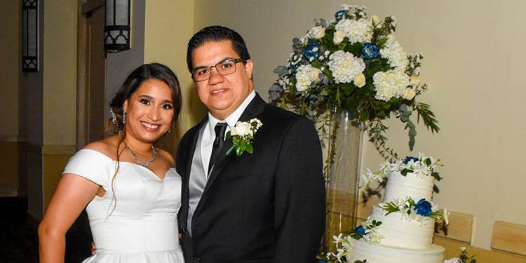 Cristina Constant y Roney Zavala