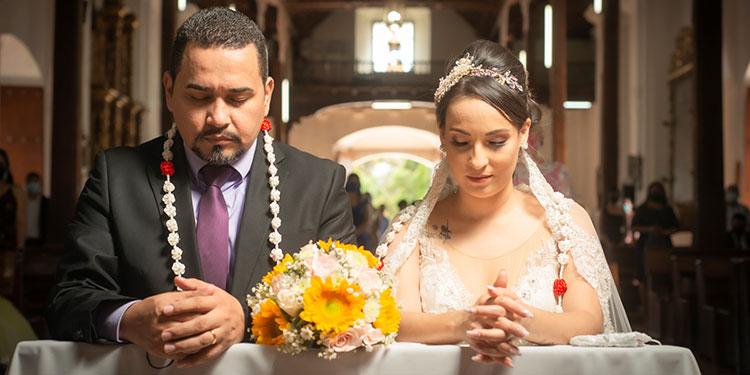 Carlos Andrés Pinel e Hilda Gabriela Rodríguez, llegaron al altar el 19 de junio