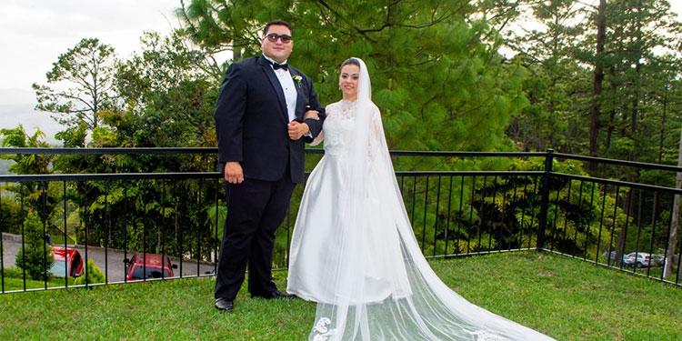 Jesús Chafick Asfura  y Pamela Alejandra  Martell.