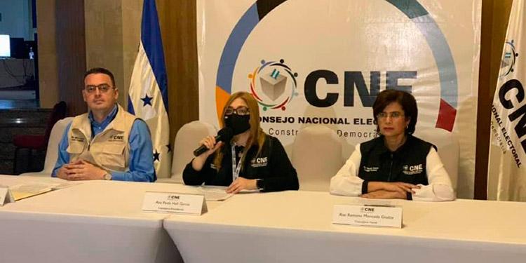Los miembros del Consejo Nacional Electoral (CNE) fueron invitados a exponer hoy ante los jefes de bancadas en el Congreso Nacional.