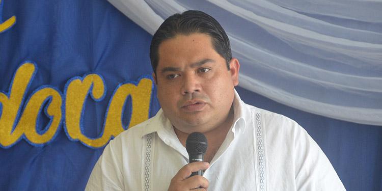 Edgardo Loucel, gobernador de Choluteca.
