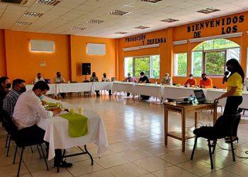 En la presentación del diagnóstico alimentario y nutricional faltaron más de 12 alcaldes del departamento de El Paraíso.