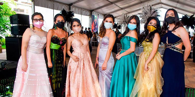 María Isabella Medina, Helen Agüero, Isabella Benítez, Cecilia Aguilar, Marcela Martínez, Alessandra Moncada, Nicole Gaitán.