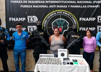 A los detenidos se les acusa, además del tráfico de drogas, de imponer el peligro en ese sector de la zona central del país.