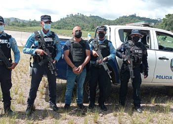 La Policía Nacional, en una operación de impacto, reportó la captura del hondureño Miguel Carlos Cordón López, solicitado en extradición por la justicia de Estados Unidos.