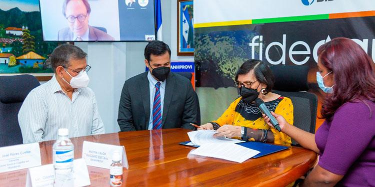 Fideagua permitirá ampliar el acceso a agua segura y elevar la calidad de los servicios y salud en beneficio de la población de Honduras.