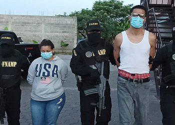 A Luisa Lili Ávila Cárcamo y Luis Gerardo Alfredo López se les sindica de haber participado directamente en la muerte violenta de dos jóvenes en la capital.
