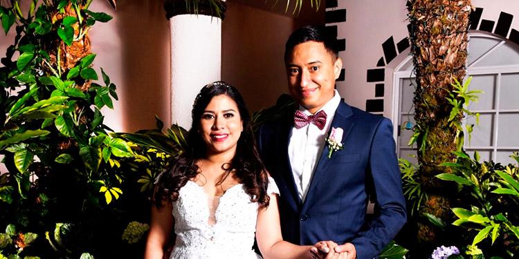 Isis Raquel Tejeda y Carlos Roberto Joya.