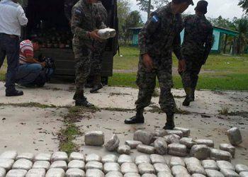 Desde enero a la fecha son 1,453 libras de marihuana confiscadas, según los reportes militares.