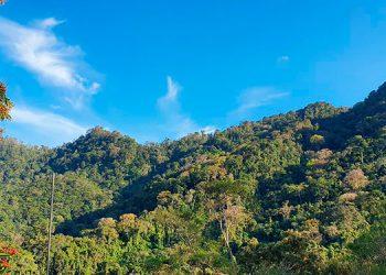 Parte del macizo montañoso, zona de reserva protegida.