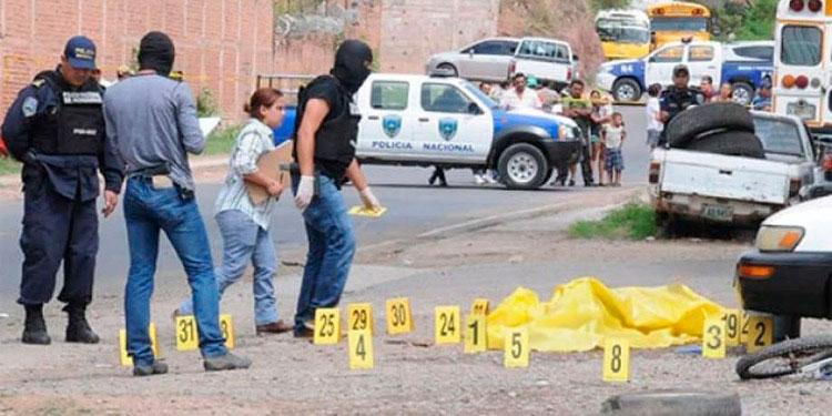 A nivel nacional, las muertes violentas durante la pandemia aumentaron, según el Observatorio de la UNAH.