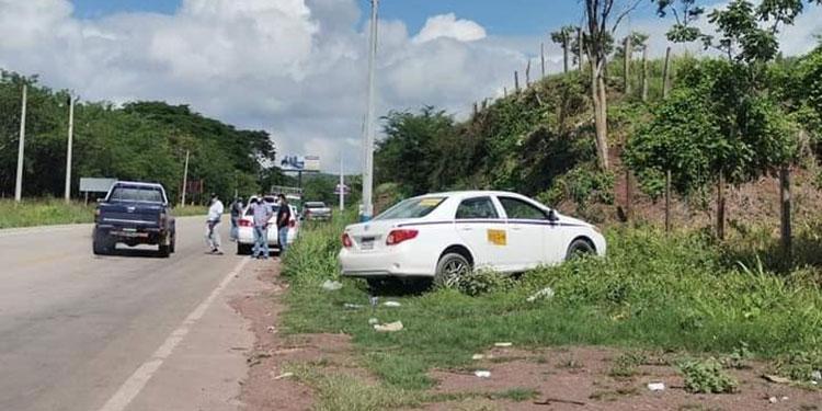 El taxista Miguel Salinas fue encontrado muerto de varios balazos.