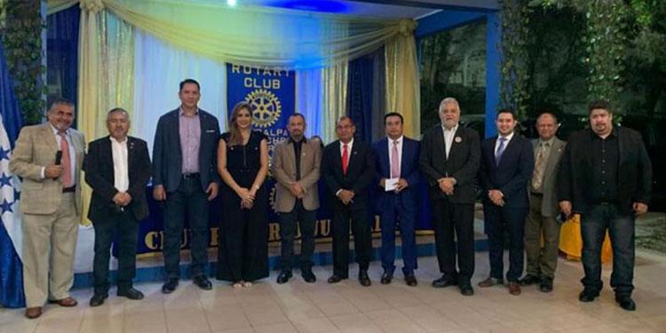 Los nuevos directivos del Club Rotario de Juticalpa anunciaron una serie de proyectos de beneficio social para esa región de Olancho.