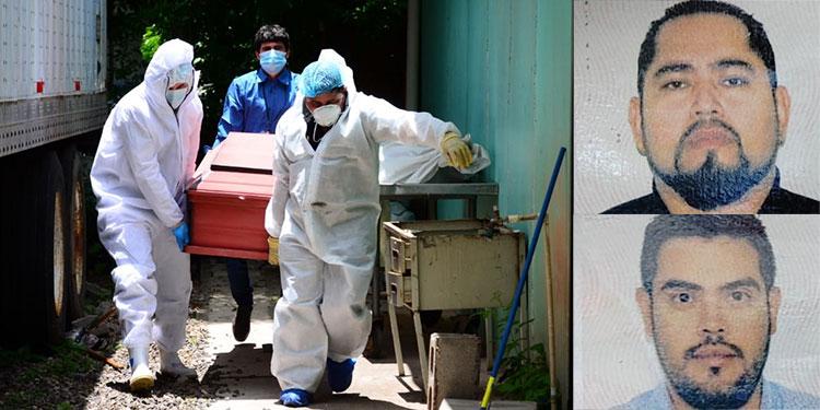 Los restos de Jesús Orozco Martínez y Gerardo Jiménez Pérez (fotos insertas) serán cremados y luego enviados el jueves hacia la Ciudad de México, donde serán entregados a sus familiares.