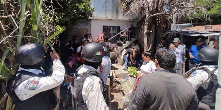 Los migrantes, en su mayoría hondureños, estaban en una casa de ciudad Reynosa, Tamaulipas, donde los hallaron autoridades policiales.