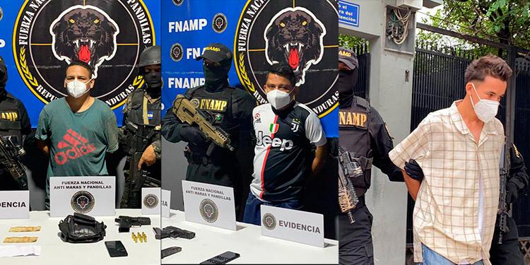 Los detenidos fueron remitidos ayer mismo al juzgado correspondiente por las autoridades de la FNAMP.