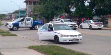 Posteriormente, a la escena del crimen llegaron miembros de la Policía Nacional, para la recolección de evidencias.