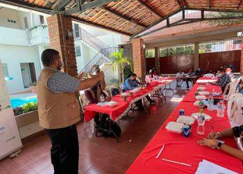 Bajo la alianza Dinaf, ACNUR y World Vision, se habilitaron Oficinas de Protección a la Niñez Migrante en las fronteras con Guatemala, El Poy y Agua Caliente, Ocotepeque.