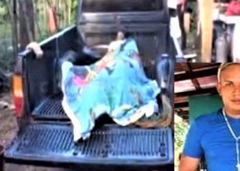 El crimen contra Jorge Samir Reyes (foto inserta) aparentemente fue cometido por enemistades personales.