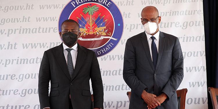 Haití estrenó nuevo gobierno, 13 días después del asesinato del presidente Jovenel Moise, con la promesa de buscar una salida a la profunda crisis del país.  (LASSERFOTO EFE)