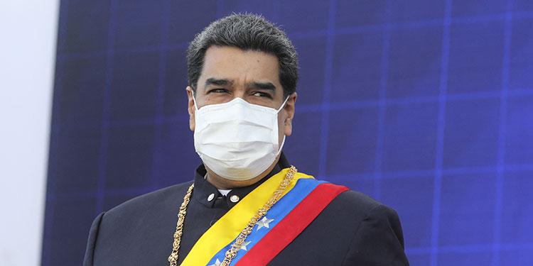 Nicolás Maduro. (LASSERFOTO AFP)