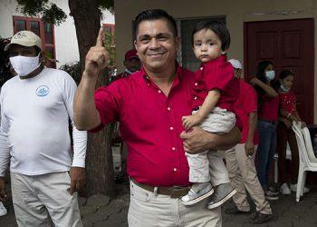 El opositor Partido Liberal Constitucionalista, fundado por el expresidente Arnoldo Alemán y segunda fuerza política en Nicaragua, presentó cuatro precandidatos a la Presidencia de cara a las elecciones del 7 de noviembre próximo.  (LASSERFOTO EFE)