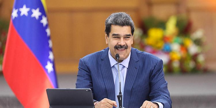 El presidente de Venezuela, Nicolás Maduro, aseguró que está listo para sentarse a negociar con la oposición en México. (LASSERFOTO AFP)