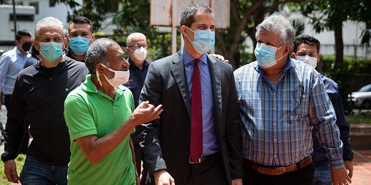 Estados Unidos apoya una salida negociada a la crisis política en Venezuela que conduzca a elecciones libres.   (LASSERFOTO EFE)
