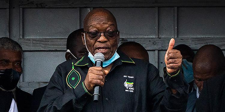 Jacob Zuma. (LASSERFOTO AP)