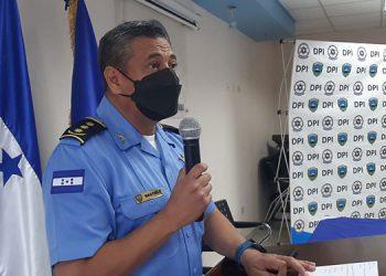 """Rommel Martínez (jefe de la DPI): """"Ya hay una línea hipotética con mucha intensidad que posiblemente se seguirá para dar con los responsables""""."""