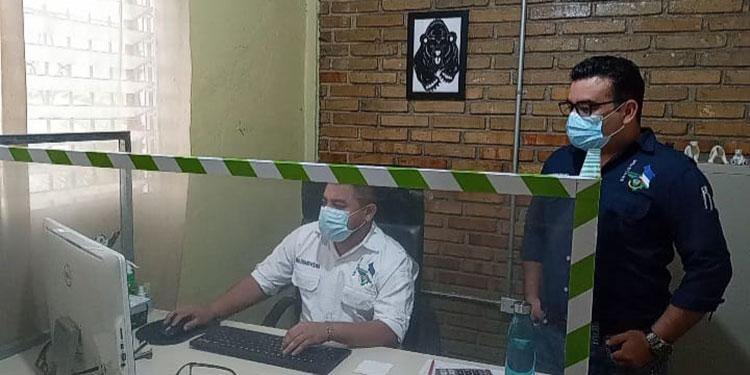 Por dos semanas permanecieron cerradas las oficinas del Catastro Municipal, en Siguatepeque.