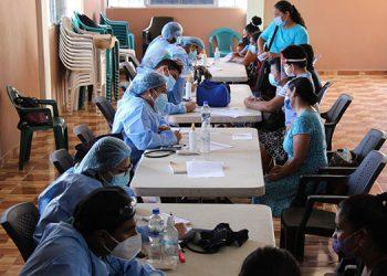 Un total de 519 atenciones médicas se ofrecieron en el barrio Buena Vista y se entregaron medicamentos a la población.