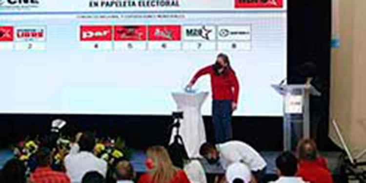El CNE envió la invitación a los partidos políticos para realizar el sorteo.