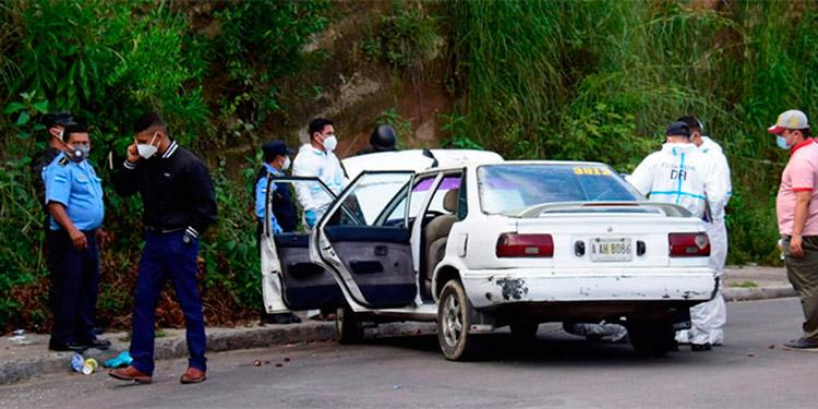 En el mes de julio al menos cinco taxistas han sido ultimados en los municipios de Olanchito, El Paraíso, Tela y Tocoa.