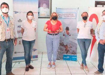 """Rosa González destacó: """"Hoy reconocemos a Grupo Jaremar como un socio activo, que desde el 2012 ha brindado apoyo."""