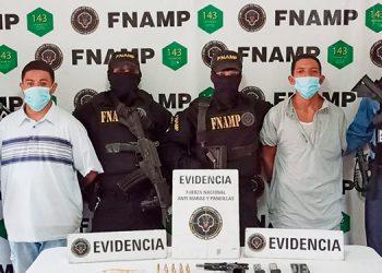 Autoridades indicaron que ambos pandilleros eran responsables de la ola de incidentes delictivos que se registran en ese sector nororiental de la capital.