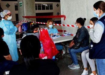 20 mil vacunas se aplicaron en los mercados.