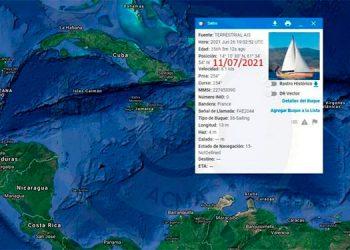 Las autoridades mantienen la alerta de búsqueda y rescate para encontrar a los tripulantes de la embarcación francesa.