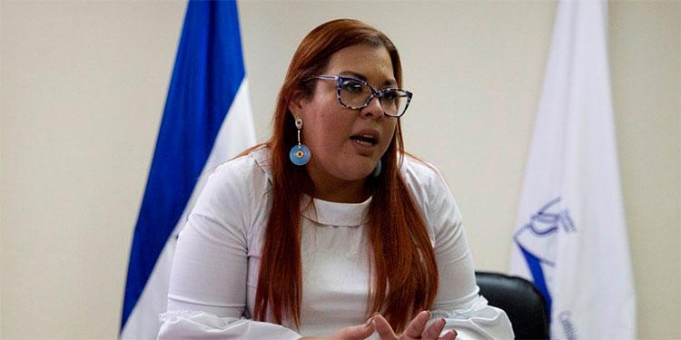 Blanca Izaguirre, titular del Conadeh.